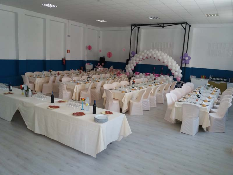 Los Tendis Salón decorado para evento